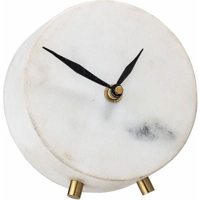 Bloomingville - Clock White Marble