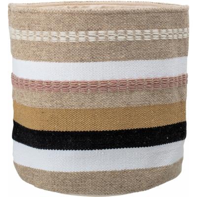 Bloomingville - Basket 108, Multi-color, Wool