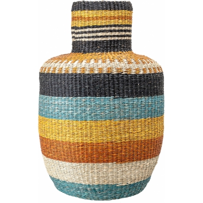 Bloomingville - Basket 101, Multi-color, Seagrass