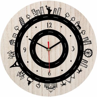 Bloomingville - Clock, Nature, MDF