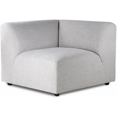HKliving - Jax Couch: Element links, Sneak, Hellgrau