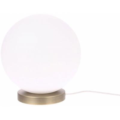 HKliving - Weiß Glaskugel Lampe M