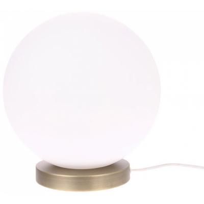 HKliving - Weiß Glaskugel Lampe L
