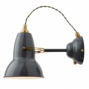 Anglepoise - Original 1227 Brass Wandleuchte Elephant Grey