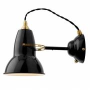 Anglepoise - Original 1227 Brass Wall Lamp Jet Black