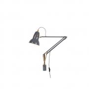 Anglepoise - Original 1227 Brass Leuchte mit Wandmontage Elephant Grey
