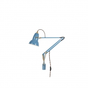 Anglepoise - Original 1227 Brass Leuchte mit Wandmontage Dusty Blue