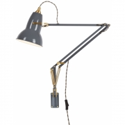 Anglepoise - Original 1227 Brass Lamp with Wall Bracket