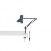 Anglepoise - Type 75 Mini Desk Lamp with Desk Clamp Slate Grey