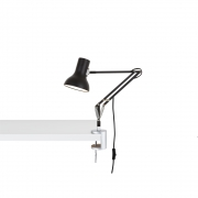 Anglepoise - Type 75 Mini Desk Lamp with Desk Clamp Jet Black