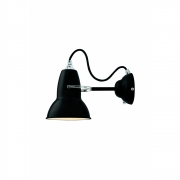 Anglepoise - Original 1227 Wall Lamp Jet Black (Cable: Black)
