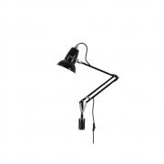 Anglepoise - Original 1227 Mini Lampe avec fixation murale Jet Black (Câble: Noir)