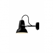 Anglepoise - Original 1227 Mini Wall Lamp Jet Black (Cable: Black)