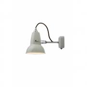 Anglepoise - Original 1227 Mini Wandleuchte Linen White (Kabel: Grau)