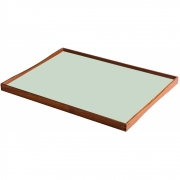 ArchitectMade - Turning Tray (51 x 38 cm) | Black/Mint green