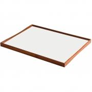 ArchitectMade - Turning Tray Tablett 51 x 38 cm | Schwarz/Weiß