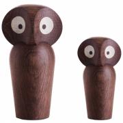 ArchitectMade - Owl Wooden Figure Large | Oak natural