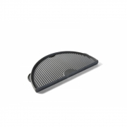 Big Green Egg - Cast Iron Griddle Half Moon