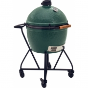 Big Green Egg XLarge With Trolley (Nest) + Mates Side Tables