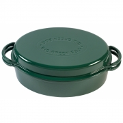 Big Green Egg - Green Dutch Oven Oval