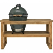 Big Green Egg - Grande table en acacia