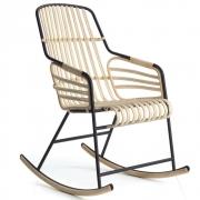 Casamania - Raphia Rocking Chair