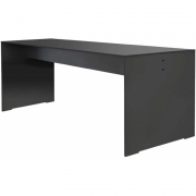 Conmoto - Riva table rectangulaire 220 x 70 cm   Anthracite
