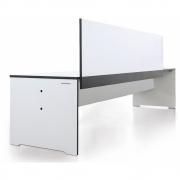 Conmoto - Riva Bank mit Rückenlehne 216 cm | Weiß