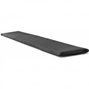 Conmoto - Auflage für Riva Bank mit Rückenlehne 216 cm | Beigegrau