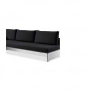 Conmoto - Dossier pour Riva Lounge canapé 200 cm | Blanc