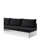 Conmoto - Backrest for Riva Lounge Sofa 200 cm | White