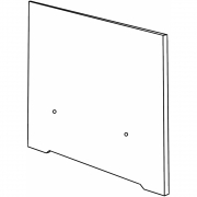 Conmoto - Riva Lounge Armlehne 57 cm | Taupe