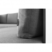 Conmoto - Rückenkissen für Riva Lounge Sofa 80 cm | Anthrazit
