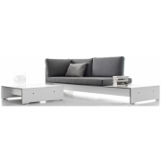 Conmoto - Riva Lounge Combination Combi F | White | Anthracite