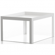 Conmoto - Karo Side Table White Matt