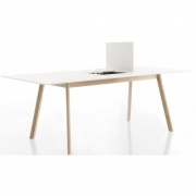 Conmoto - Pad Desk with Cut-Out