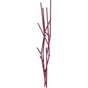 Covo - Latva Wall Coat Hanger Purple Red