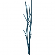 Covo - Latva Wall Coat Hanger Ocean Blue