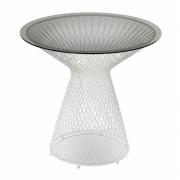 Emu - Heaven Tisch niedrig 45 cm | Weiß | Transparent