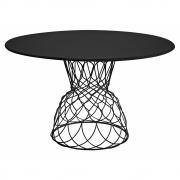 Emu - Re-Trouvé Tisch 130 cm | Schwarz