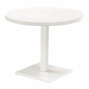 Emu - Round Tisch rund Mattweiß
