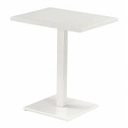 Emu - Round Tisch rechteckig 70 x 50 cm   Mattweiß