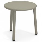 Emu - Yard Side Table round 50 cm | Grey/Green