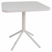 Emu - Grace Folding Table 70 x 70 cm | Matte White / Matte White