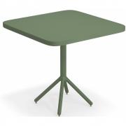 Emu - Grace Klapptisch 80 x 80 cm | Militärgrün / Militärgrün