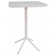 Emu - Grace Bar Table Foldable Cement / Matte White