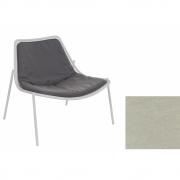 Emu - Sitz- und Rückenkissen für Round Loungesessel Greige