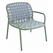 Emu - Yard Lounge Chair Grey / Green