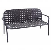 Emu - Yard Sofa 2-Sitzer Schwarz