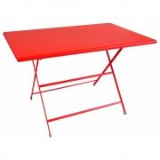 Emu - Arc En Ciel Folding Table Rectangular 110 x 70 cm | Scarlet Red